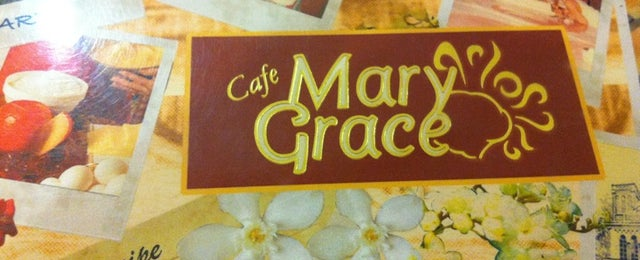 Photo taken at Café Mary Grace by Lei  P. on 4/18/2011