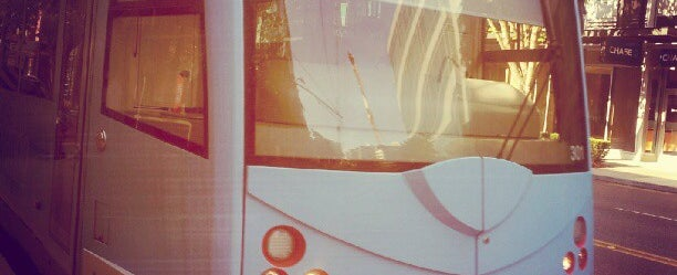 Photo taken at South Lake Union Streetcar by scott i. on 7/17/2012