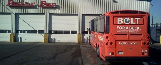 Photo taken at Peter Pan Bus Lines Maintenance Center by Trevor L. on 1/9/2012