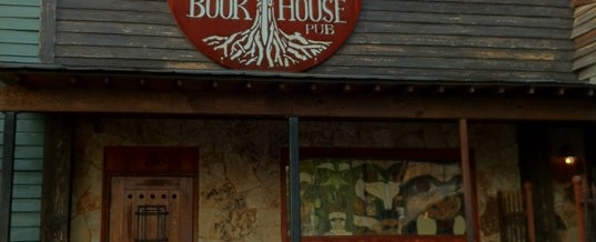 Photo taken at The BookHouse Pub by Chris V. on 5/27/2012