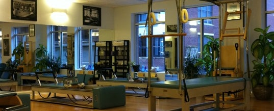 Photo taken at Reform. A True Pilates Studio by Christen G. on 10/2/2011