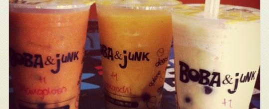 Photo taken at Boba & Junk by Rafa S. on 7/14/2012
