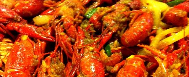 Photo taken at Wild Cajun by Michele T. on 3/13/2012