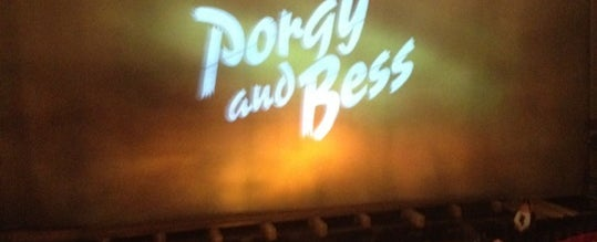 Photo taken at Porgy & Bess on Broadway by @MstrBrown on 9/11/2012