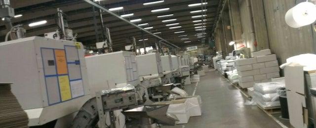 Photo taken at Helvoet Rubber & Plastic Technologies BV by Mathias B. on 8/20/2012