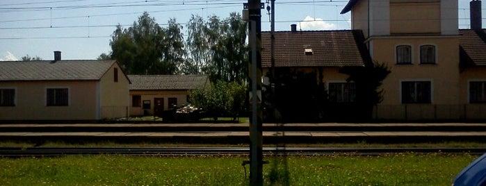 Železniční stanice Ševětín is one of Železniční stanice ČR: Š-U (12/14).
