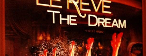 Le Rêve is one of Las Vegas Entertainment.