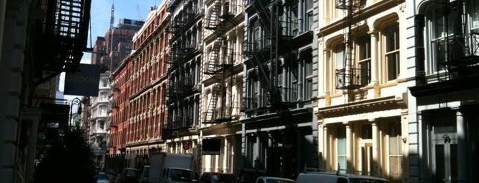 SoHo is one of NYC's Soho.