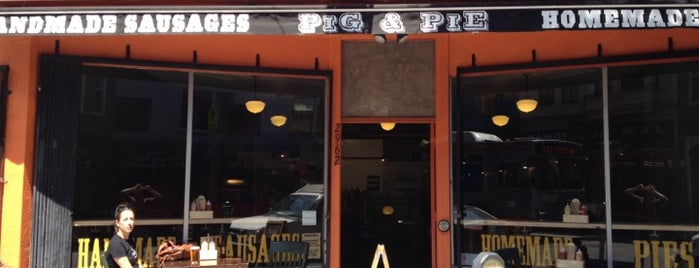 Pig & Pie is one of San Francisco City Guide.