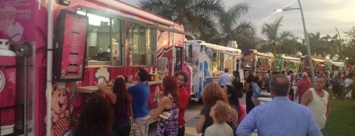 Food Trucks at Arts Park is one of Florida Favorite *Eats & Treats*.