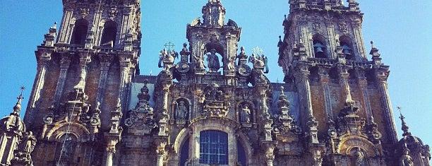 Catedral de Santiago de Compostela is one of Catedrales de España / Cathedrals of Spain.