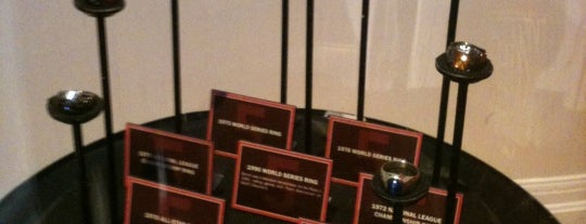 Cincinnati Reds Hall of Fame & Museum is one of #VisitUS #VisitCincinnati.