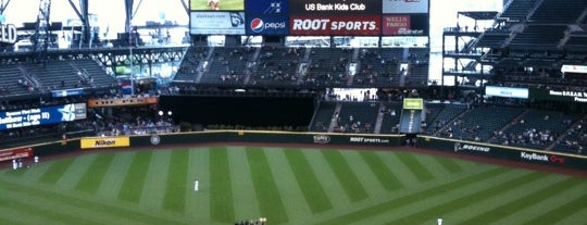 Safeco Field is one of Sport Staduim.