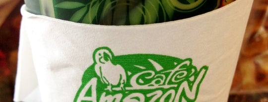 Café Amazon is one of ╭☆╯Coffee & Bakery ❀●•♪.。.