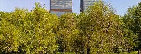ПКиО «Красная Пресня» is one of Лучшие парки Мск.