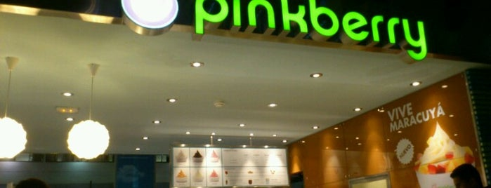Pinkberry is one of lugares donde voy :-).