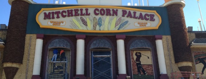 The Corn Palace is one of Seattle - Baltimore.