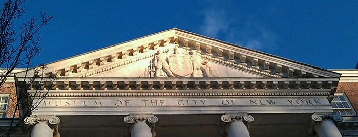 Museum of the City of New York is one of NYC Stay-cation.