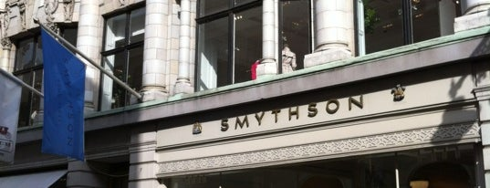 Smythson is one of London's Mayfair.
