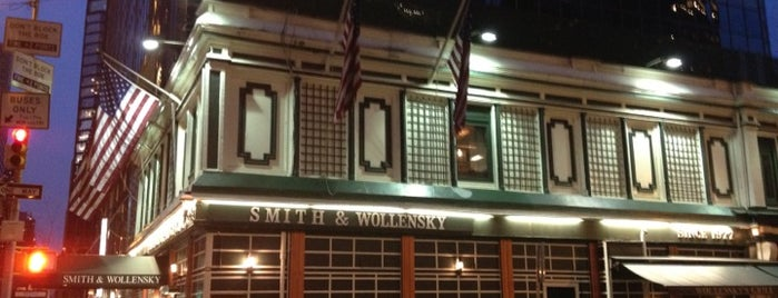 Smith & Wollensky is one of Some Selections.