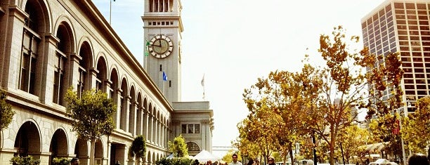 Ferry Plaza Farmers Market is one of Crucial San Francisco (aka THE CITY).