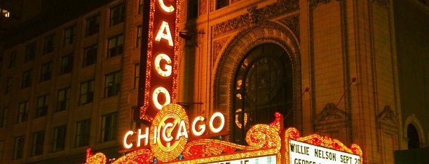 The Chicago Theatre is one of Culture in the Loop.