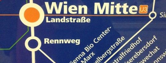 Bahnhof Wien Mitte is one of My Wien.