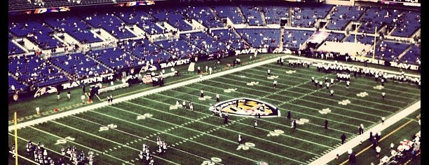 M&T Bank Stadium is one of B-More's finest! Best of Baltimore! #visitUS.