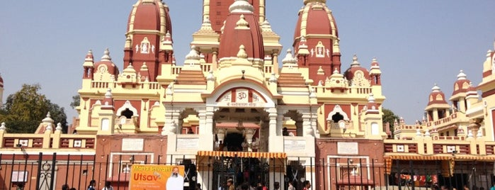 Laxmi Narayan Temple (Birla Mandir) is one of Top 10 favorites places in New Delhi, India.