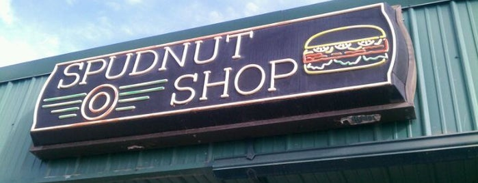 Spudnut Shop is one of Gotta Try Donuts!.
