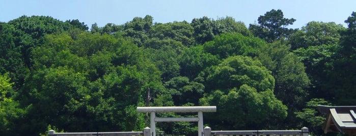 仁賢天皇 埴生坂本陵 (野中ボケ山古墳) is one of 天皇陵.