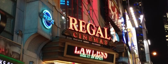 Regal Cinemas E-Walk 13 & RPX is one of NYC Theaters.