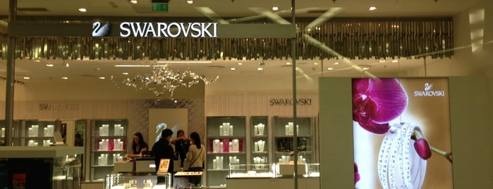 Swarovski is one of KÖKI Terminál.