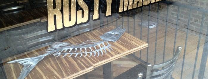 Rusty Mackerel is one of American Restaurants-To-Do List.