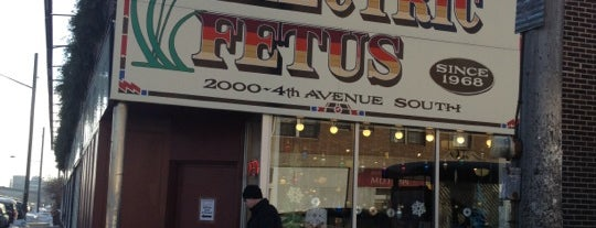 Electric Fetus is one of Top 10 favorites places in Minneapolis, MN.