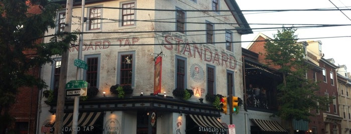 Standard Tap is one of Philly.