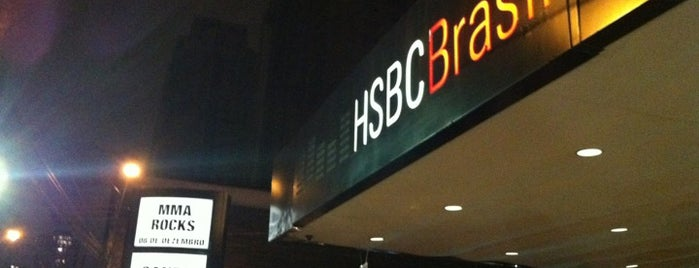 HSBC Brasil is one of em Sampa.