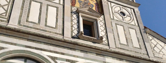Basilica di San Miniato al Monte is one of Must-visit Museums in Firenze.