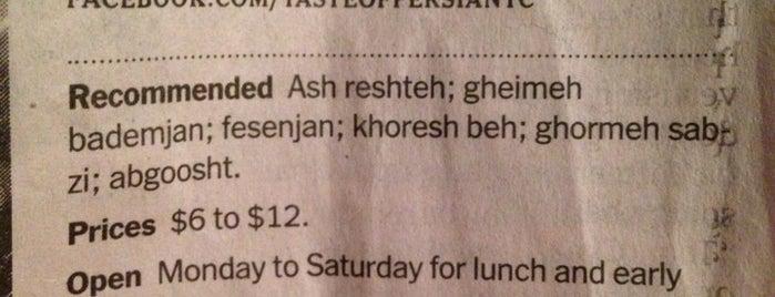 Taste Of Persia is one of Eat it!.