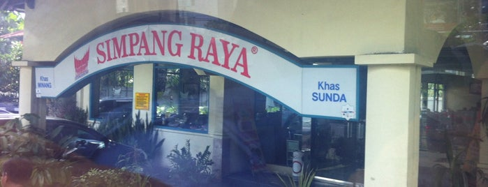 Restoran Simpang Raya is one of 20 favorite restaurants.