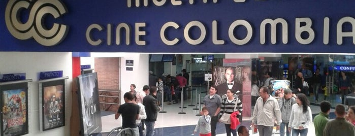 Cine Colombia Metropolis is one of Top picks for Movie Theaters.