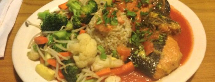 Cinnamon Vegetarian is one of KCET Food - Free Lunch.
