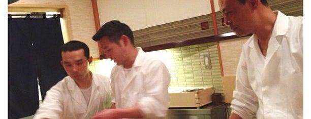 Sukiyabashi Jiro is one of Michelin Guide Tokyo (ミシュラン東京) 2012 [***&**].