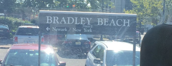 NJT - Bradley Beach Station (NJCL) is one of New Jersey Transit Train Stations.