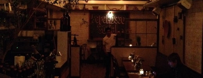 Pepe Rosso Social is one of lunch in soho.