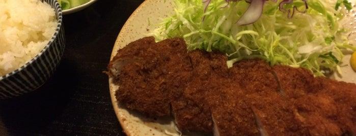 とんかつ 桂 is one of 美味しいもの.