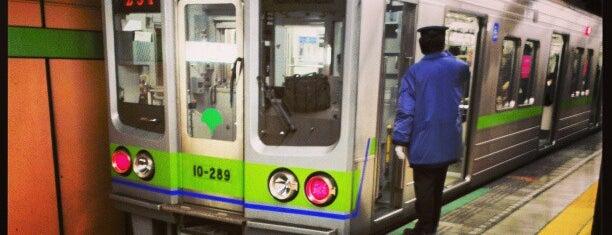 Shinjuku Line Morishita Station (S11) is one of Station.