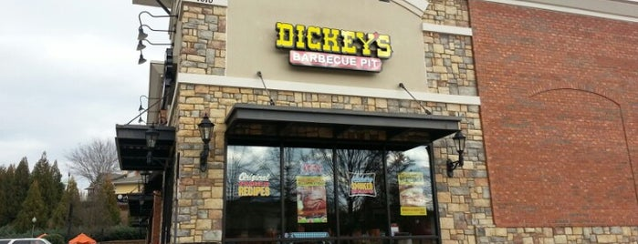 Dickey's Barbeque Pit is one of Mayors.