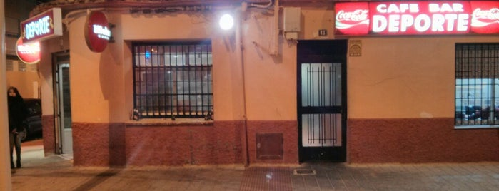 Deporte Cafe-bar is one of Albacete & Mahou.