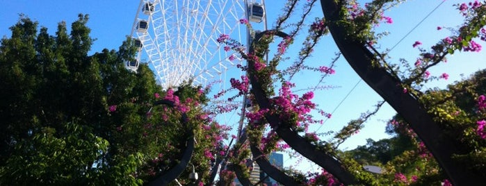 South Bank Parklands is one of Ben's Top 10 favourites places in Brisbane.